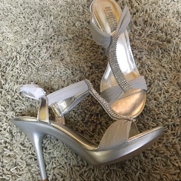 8a6696f47d4 David s Bridal Silver Belize 12 (Style)